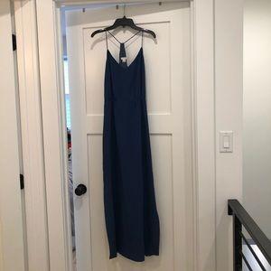 Jcrew Navy Maxi dress Size 6